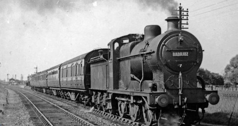 Tren viejo badajoz #trendignoya